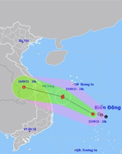 Áp thấp nhiệt đới có thể mạnh lên thành bão, di chuyển nhanh, Hà Tĩnh tới Bình Định có mưa lớn