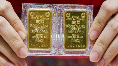 Vàng thế giới tăng nhẹ, vẫn thấp hơn vàng trong nước 7,3 triệu đồng/lượng