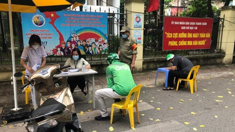 Trong 3 ngày đầu giãn cách xã hội, Hà Nội xử phạt hơn 1,5 tỷ đồng