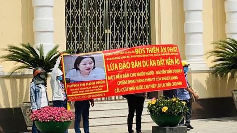 Bắt Tổng giám đốc công ty bất động sản Thiên Ân Phát vì bán dự án 'ma'