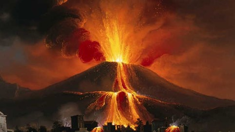 Hiện tượng bí ẩn trên thế giới: Núi lửa phun trào xóa sổ thành phố xa hoa bậc nhất La Mã chỉ trong một đêm