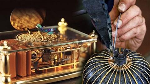 Cả một trời ký ức trong những chiếc hộp nhạc - món quà được tạo nên từ hơn 100 loại gỗ quý, có giá cả triệu đô