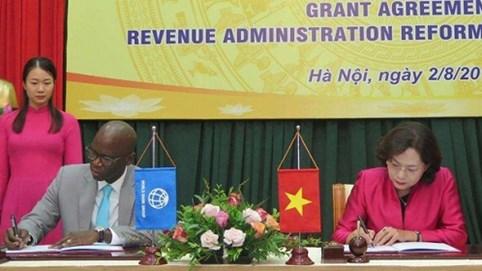 Ngân hàng Thế giới và Nhật Bản hỗ trợ Việt Nam hiện đại hóa hệ thống thuế