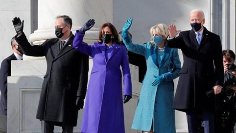 Phong cách thời trang đầy ẩn ý trong lễ nhậm chức của Biden