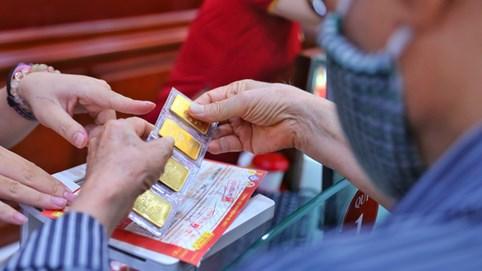 Giá vàng SJC đảo chiều giảm giá 600.000 đồng/lượng