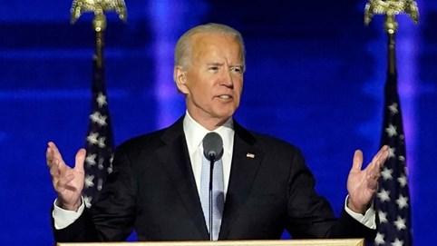 Bài phát biểu đầu tiên của ông Biden với tư cách tổng thống tân cử