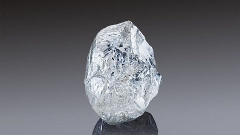 Đấu giá viên kim cương 242 carat, to bằng quả bóng bàn