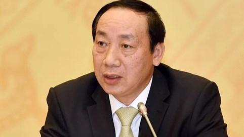 Cựu thứ trưởng Nguyễn Hồng Trường bị bắt