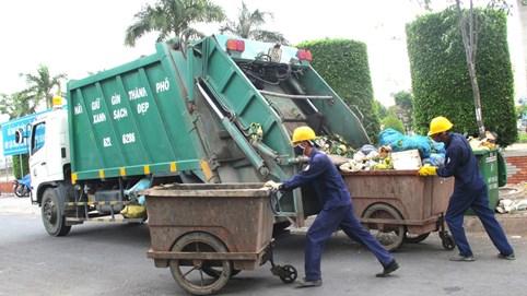 Thu phí rác sinh hoạt theo khối lượng trước năm 2025