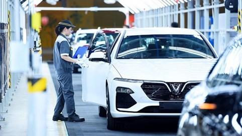 Đề xuất không gia hạn giảm 50% lệ phí trước bạ đối với ô tô sản xuất, lắp ráp trong nước