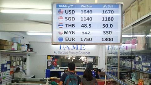 Giá trị đồng tiền Myanmar thấp kỷ lục, chạm đáy chưa từng có