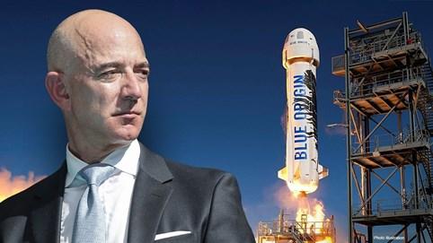 Chuyến bay lên vũ trụ của Jeff Bezos truyền cảm hứng cho cuộc đua tìm start-up không gian 1.000 tỷ USD