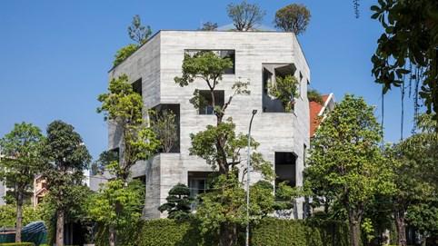 """Ngắm vịnh Hạ Long từ căn biệt thự hình lục giác, kiến trúc xanh với thiết kế """"đón đủ nắng, gió tự nhiên"""""""