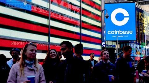 Coinbase niêm yết công khai, tiền ảo bước ra đời thực