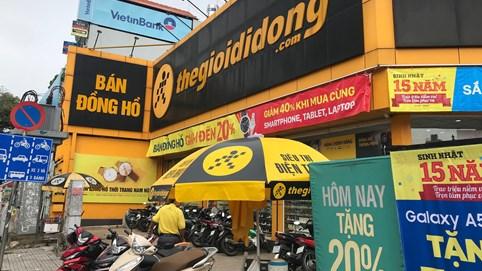 Tạm đóng cửa gần 2.000 cửa hàng, Thế Giới Di Động (MWG) báo lãi tháng 8 giảm 32%