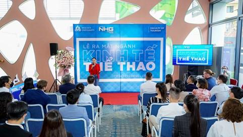 Trường Đại học Hoa Sen tiên phong ra mắt ngành kinh tế thể thao