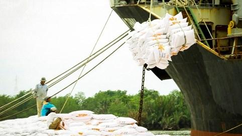 Giá xuất khẩu gạo Việt Nam vượt Thái Lan