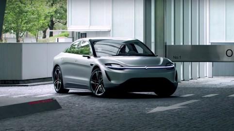 Sony có thể sớm sản xuất ô tô điện