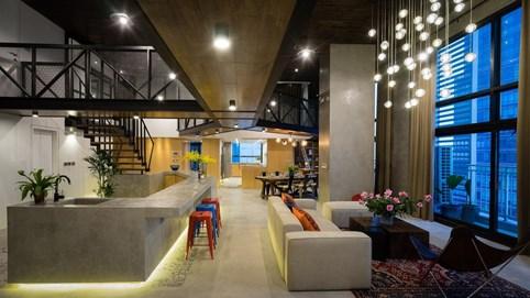 Chung cư rộng 350m2 như trung tâm giải trí thu nhỏ của gia đình ở Hà Nội