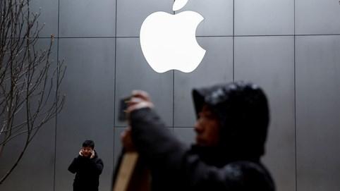 Giá trị vốn hóa Apple bốc hơi hơn 500 tỷ USD sau nửa tháng