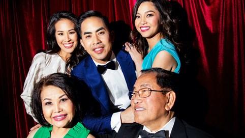 Gia đình siêu giàu gốc Việt lên truyền hình thực tế ở Mỹ