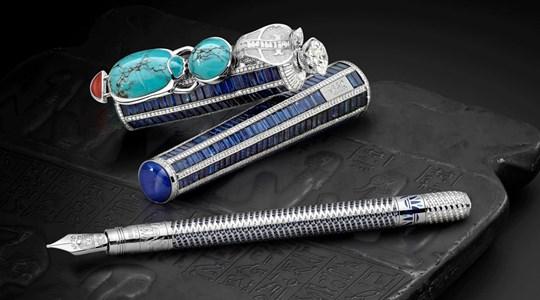 Montblanc ra mắt bộ sưu tập bút máy đắt nhất thế giới, phiên bản giới hạn lấy cảm hứng từ văn minh Ai Cập