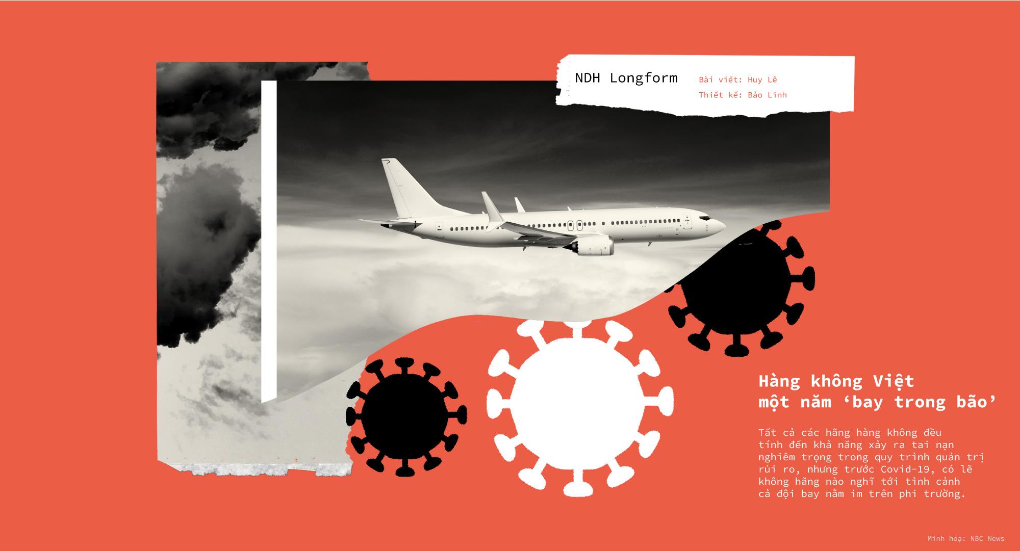 Hàng không Việt một năm 'bay trong bão' - Ảnh 1