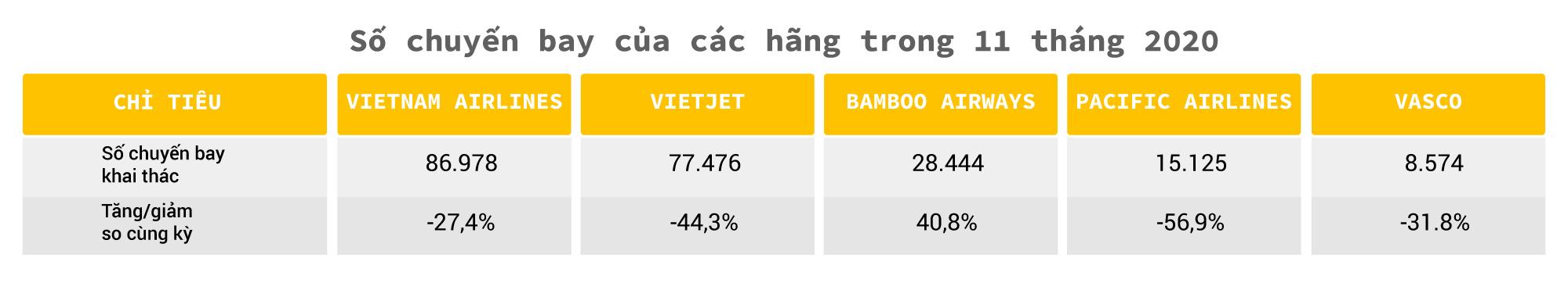 Hàng không Việt một năm 'bay trong bão' - Ảnh 6
