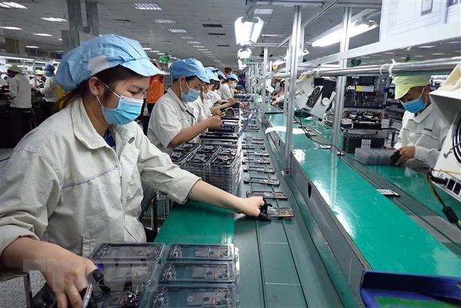 Hà Nội đã có phương án cho trường hợp các cơ sở sản xuất trong khu công nghiệp, khu chế xuất bị phong tỏa để phòng chống dịch.