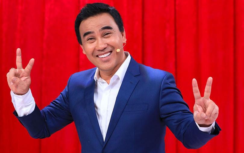 MC Quyền Linh là gương mặt được yêu thích trên truyền hình.
