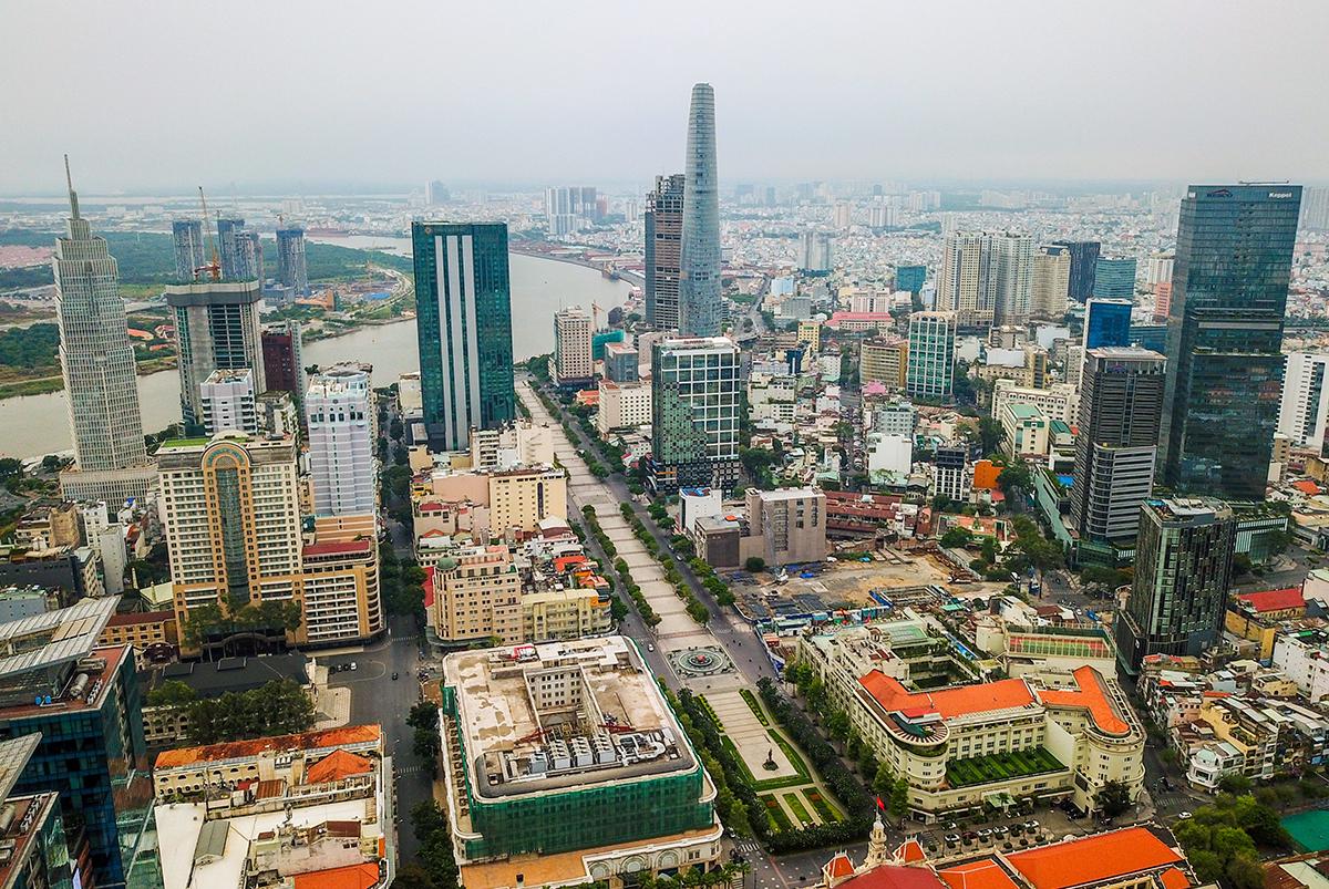 TP HCM định hướng là trung tâm tài chính và dịch vụ của khu vực Đông Nam Á và châu Á - Thái Bình Dương.