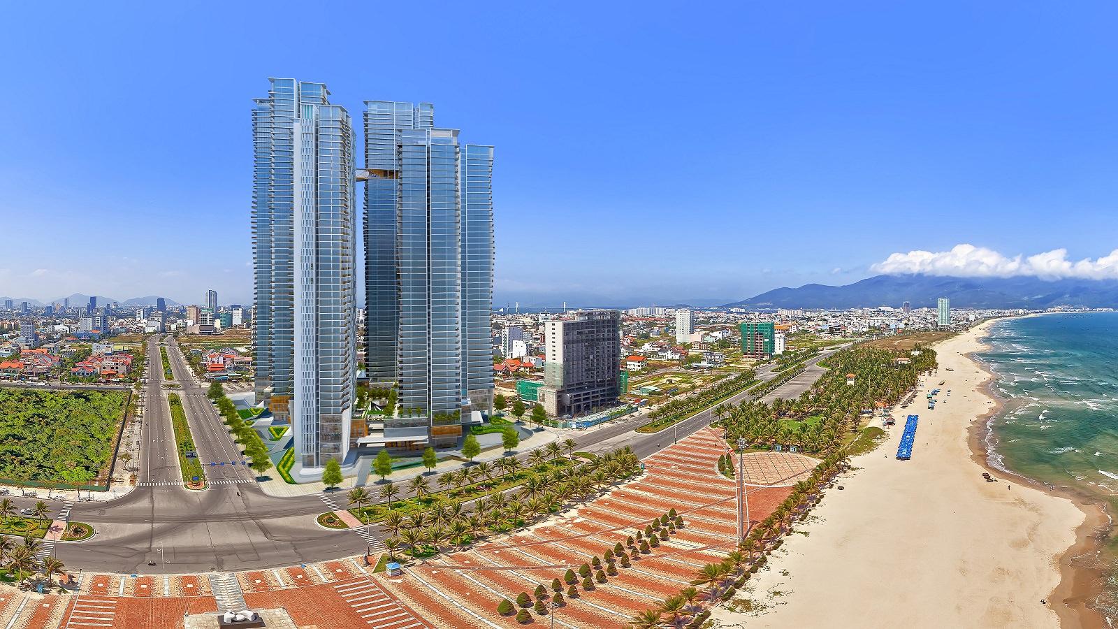 Bất động sản nghỉ dưỡng như khách sạn, condotel ở Đà Nẵng ế ẩm trước đợt dịch Covid-19 mới.