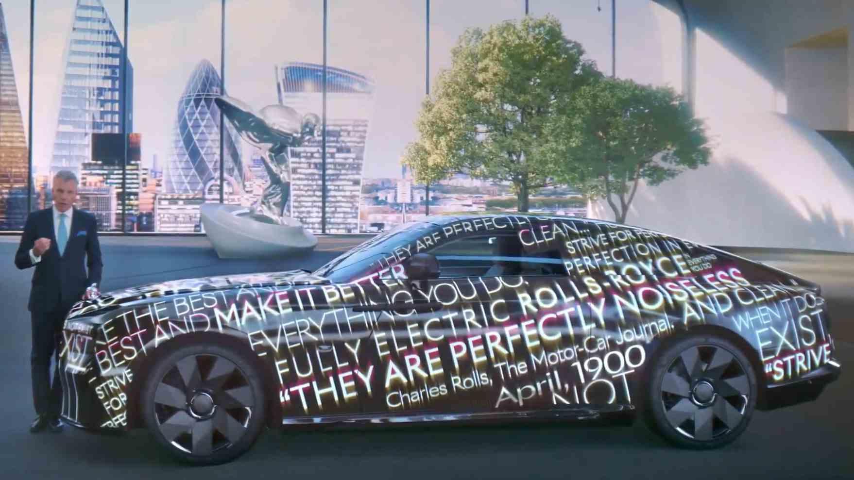 Spectre đánh dấu nỗ lực đầu tiên của Rolls-Royce để bắt kịp các đối thủ trong cuộc đua xe điện. Ảnh: Rolls-Royce