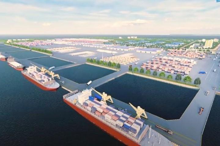 Phối cảnh dự án Bến cảng Vạn Ninh. Nguồn: Internet