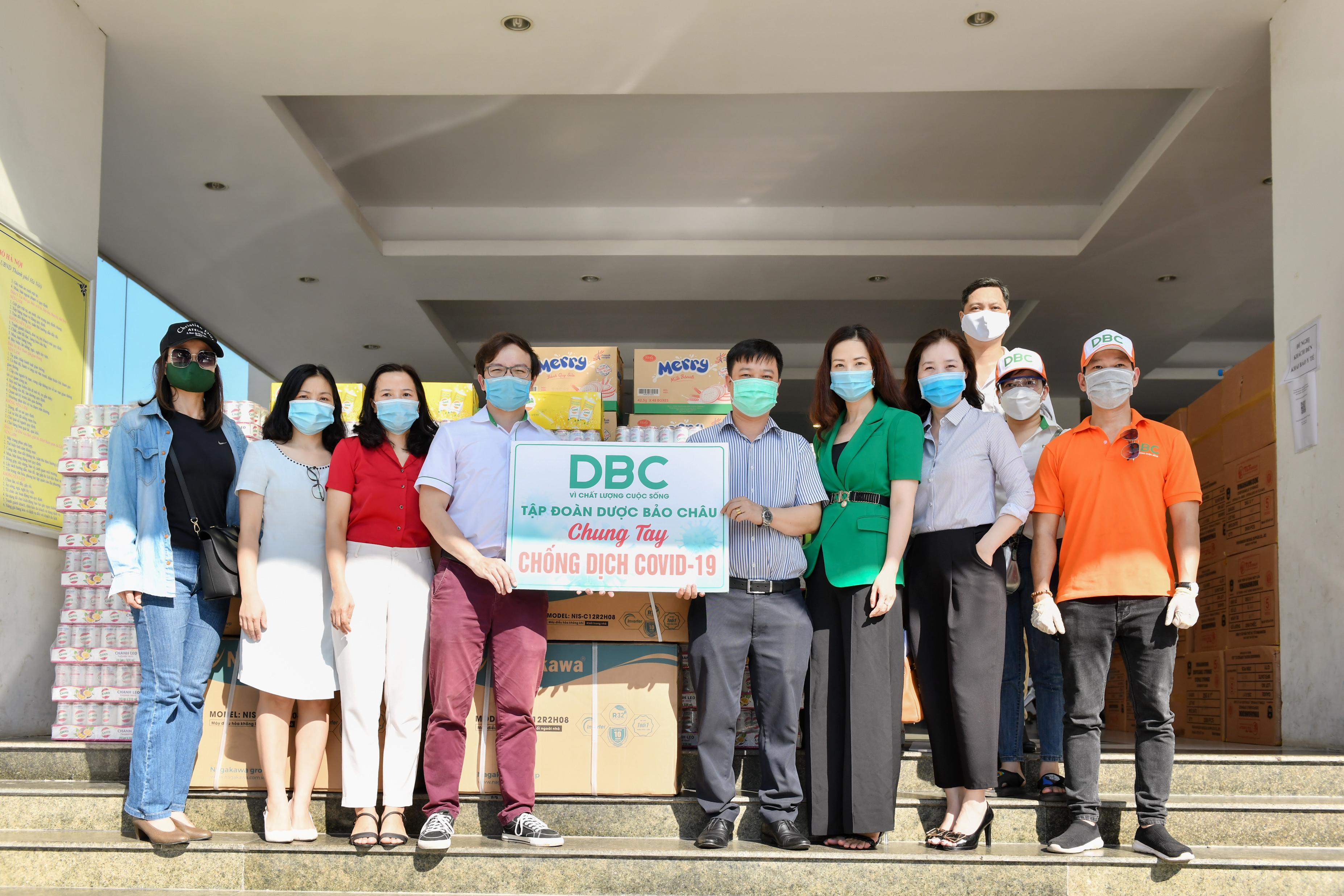 Những món quà ý nghĩa, thiết thực của Tập đoàn Dược Bảo Châu được trao tới Trung tâm Kiểm soát Bệnh tật TP.Hà Nội
