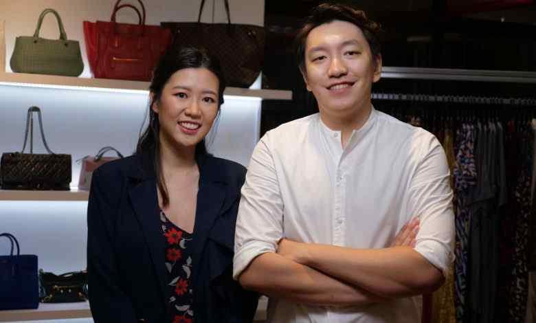 Vợ chồng Raena Lim và Chris Halim với nền tảng cho thuê quần áoStyle Theory