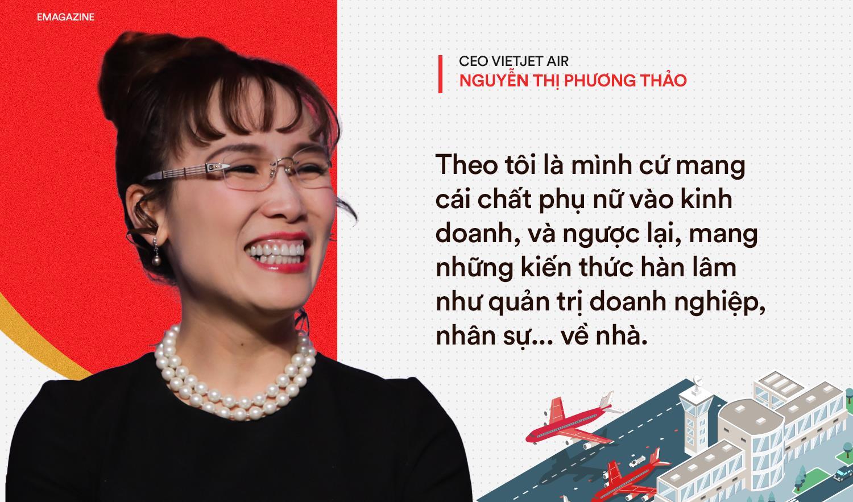 Tỷ phú Vietjet Nguyễn Thị Phương Thảo: Phụ nữ hãy cứ cố gắng gấp 3 người thường! - Ảnh 8