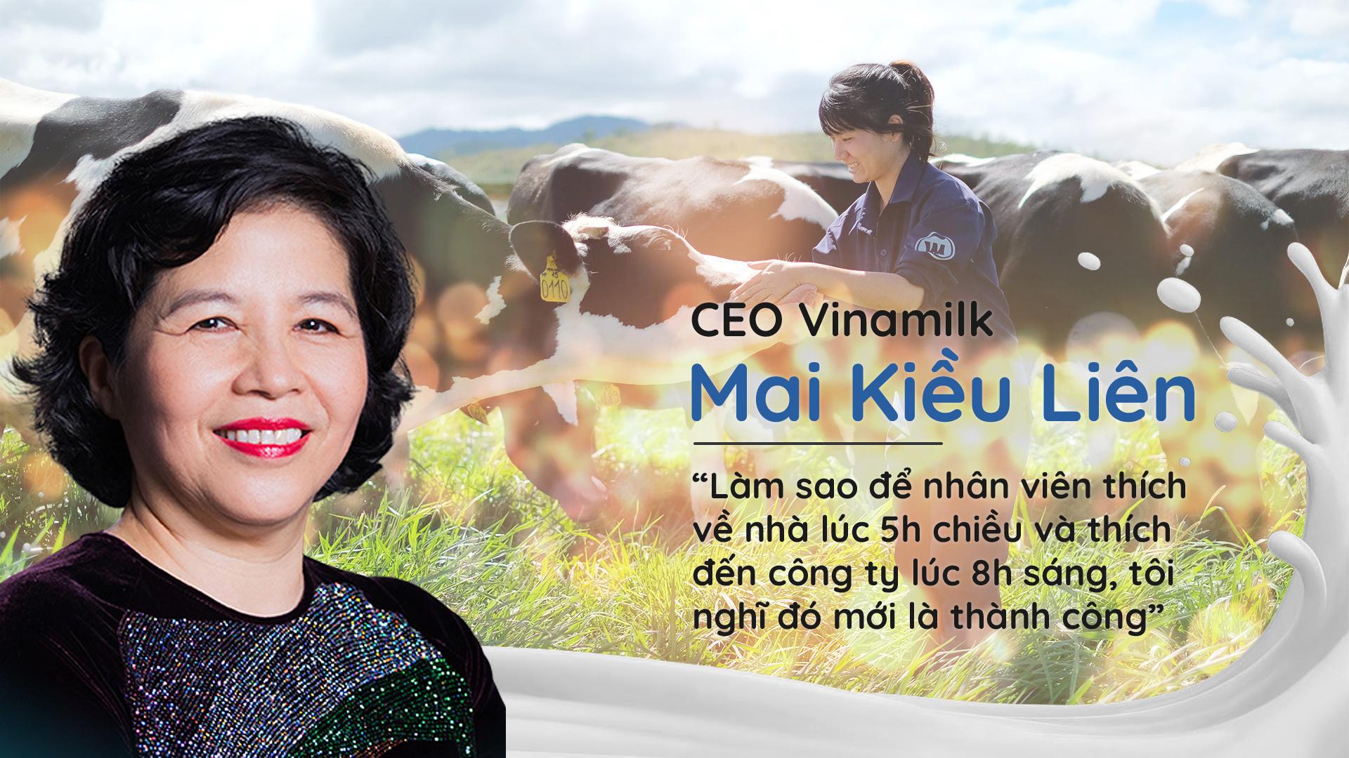 """CEO Vinamilk Mai Kiều Liên: """"Làm sao để nhân viên thích về nhà lúc 5h chiều và thích đến công ty lúc 8h sáng, tôi nghĩ đó mới là thành công"""" - Ảnh 1"""