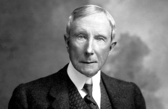 Tỷ phú dầu mỏ Rockefeller.