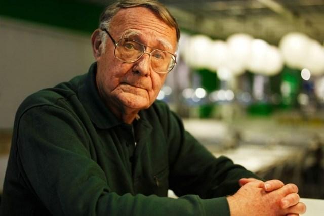Tỷ phú Ingvar Kamprad: Từ 2 bàn tay trắng thành lập đế chế đồ gỗ IKEA - Ảnh 1