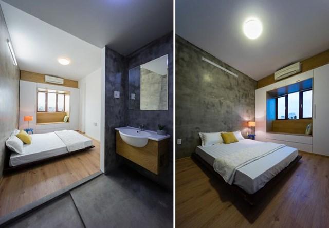 Do đó, căn hộ được cải tạo với mong muốn khơi gợi lại cảm xúc và kỉ niệm về mái nhà xưa - không gian sống yên bình, thảnh thơi - cảm giác mà một căn hộ thông thường không thể mang lại.