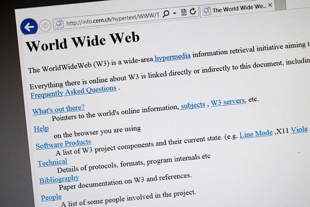 Tim Berners-Lee muốn Internet có lại sự bình đẳng như cách đây 30 năm. Ảnh:Getty Images.