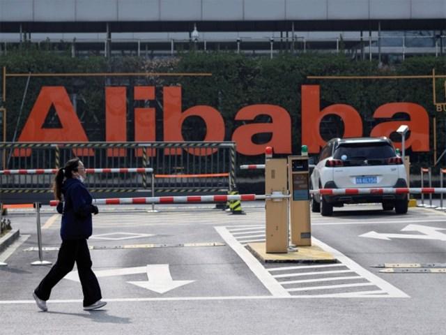 Alibaba đối mặt với nhiều thách thức cả trong và ngoài nước. Ảnh:AFP.