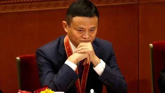 Tỷ phú Jack Ma không xuất hiện công khai trong hơn hai tháng qua. Ảnh:AP.