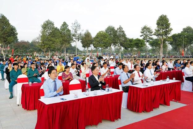 Buổi lễ nhận được sự tham dự của đông đảo Quý Ban lãnh đạo cùng Quý bị đại biểu