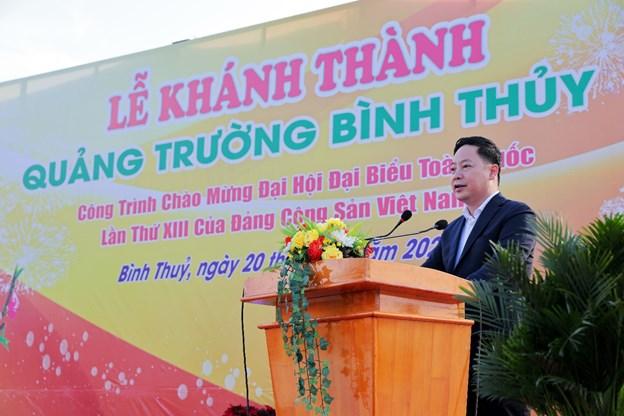 Ông Nguyễn Duy Kiên - Chủ tịch HĐQT KITA Group phát biểu tại buổi lễ