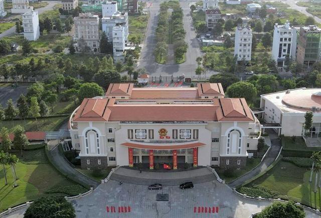 Trụ sở UBND quận 2, đường Trương Văn Bang dự kiến là nơi làm việc của UBND TP Thủ Đức.