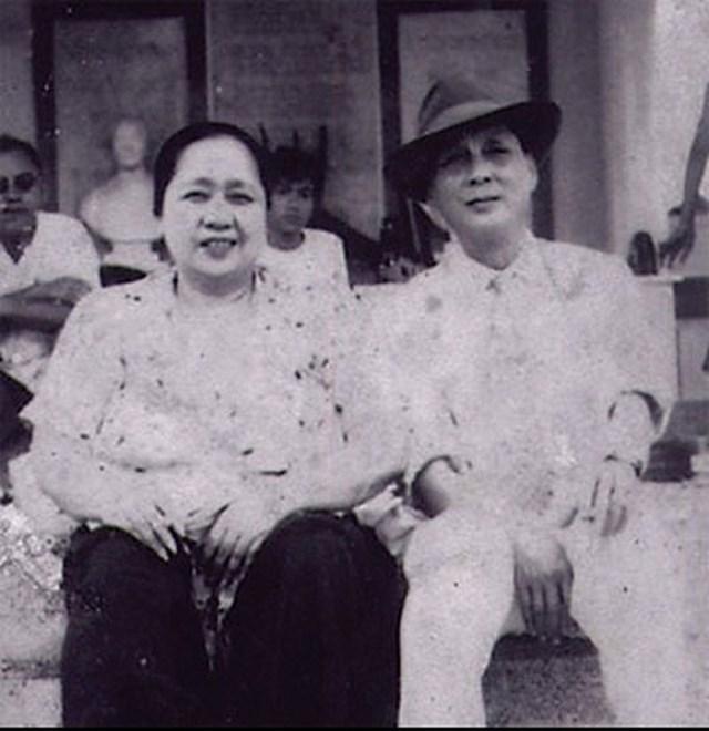 Chân dung vợ chồng ông Trần Trinh Trạch.