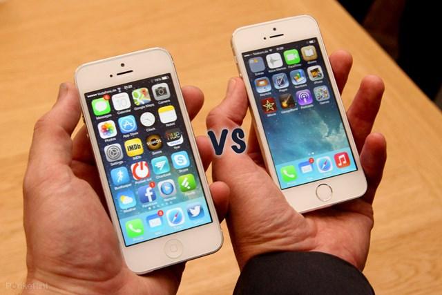 Sản phẩm iPhone 5 và iPhone 5s