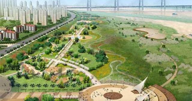 Dự án thành phố ven sông Hồng đến nay vẫn nằm ở mức ý tưởng.